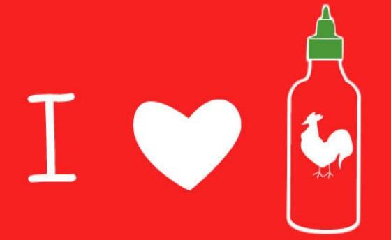 Sriracha love