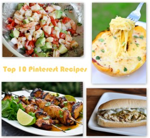 Top 10 Pinterest Recipes 2013