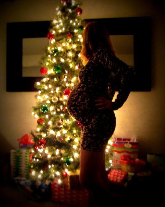 Pregnant Maternity Christmas