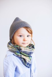Boys Flannel Scarf by Harts and Pearls