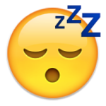 sleep emoji