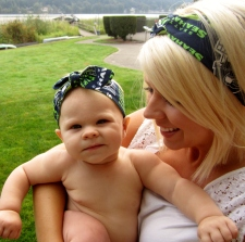 Mother-Daughter 12th Woman head wraps from Harts & Pearls !